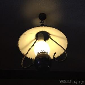 清泉寮ランプ